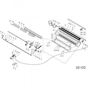 42 Frame blad passend voor DEUTZ-FAHR RB4.60 BalePack
