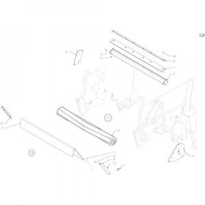 07 Hakselaarrol passend voor DEUTZ-FAHR RB4.60 BalePack