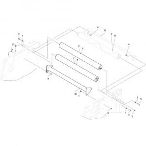 08 Rollen passend voor DEUTZ-FAHR RB4.60 BalePack