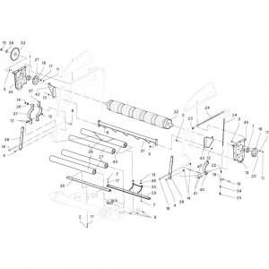 09 Rollen passend voor DEUTZ-FAHR RB4.60 BalePack