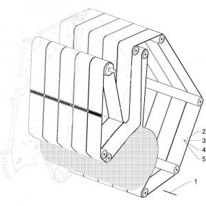 15 Hydrauliek passend voor DEUTZ-FAHR RB4.60 BalePack