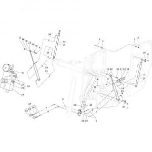 16 Kabelboom Autoform passend voor DEUTZ-FAHR RB4.60 BalePack