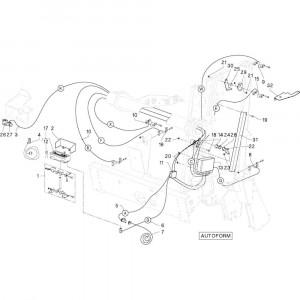 18 Indicator Autoform passend voor DEUTZ-FAHR RB4.60 BalePack