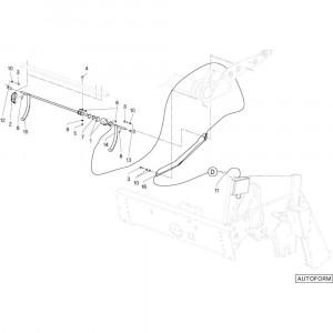 19 Touwbindsysteem passend voor DEUTZ-FAHR RB4.60 BalePack