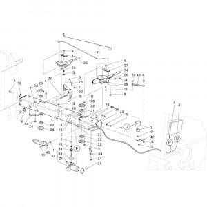 20 Beschermingen zwadborden passend voor DEUTZ-FAHR RB4.60 BalePack