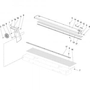 21 Bak touw passend voor DEUTZ-FAHR RB4.60 BalePack