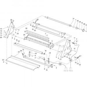 23 Remmen passend voor DEUTZ-FAHR RB4.60 BalePack