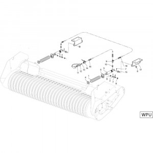 32 Aandrijving R+Oc passend voor DEUTZ-FAHR RB4.60 BalePack