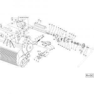 33 Rotor passend voor DEUTZ-FAHR RB4.60 BalePack