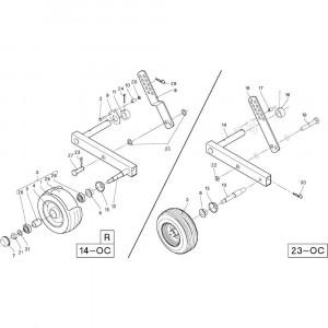 35 Gewasgeleider R+Oc passend voor DEUTZ-FAHR RB4.60 BalePack