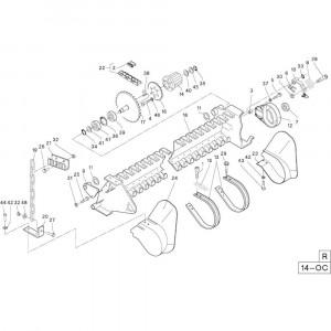 38 Frame passend voor DEUTZ-FAHR RB4.60 BalePack