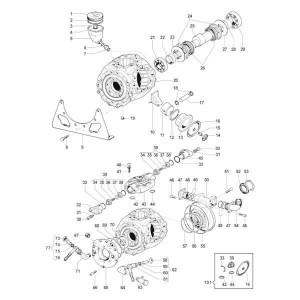 Onderdelen passend voor Comet APS 141 / APS166