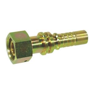 Perspilaar AQOSH-1W metrisch wartel zwaar | D.m.v. conus met O-ring | DIN 2353 | 24 °
