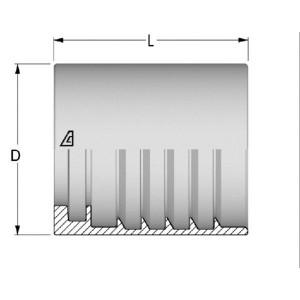 Pershuls voor Hydrauliekslang EN853-1SN/EN857-2SC | NST en HSK slang