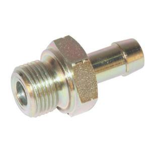 Brandstof pilaar LNH BSP uitwendig | Buitendraad BSP | BSP-nippels | D.m.v. koperen ring | DIN 2353 | Verzinkt