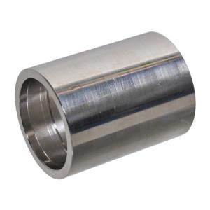 Pershuls voor gegolfde Teflon/RVS slang met 1 inlaag | Roestvast staal AISI 316L