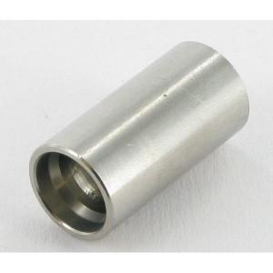 Pershuls voor Teflon/RVS slang 1 inlagen | Roestvast staal AISI 316L