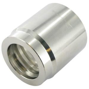 Pershuls voor hydrauliekslang EN 853-1SN/2SN / EN 857-2SC RVS | Roestvast staal AISI 316L