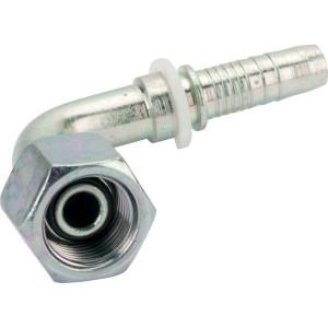 Perspilaar PF/DKR - BSP wartel - 90° | BSP-nippels | D.m.v. conus met O-ring | DIN ISO 228 | 60 °