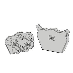Stofkappen | Materiaal: zacht-PVC