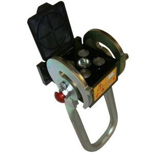 4-voudig type 2P508 met vetnippel | 4 Koppelingen DN12 | Polyurethaan \ PFTE | 250 bar | 350 bar