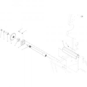02 Aandrijving passend voor KUHN VB2260