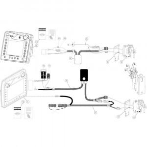 24 Hydraulische achterklep passend voor KUHN VB2260