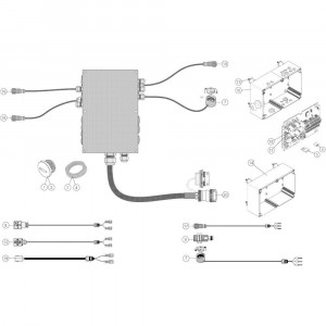 25 Besturingsbox Cci/Vt50 passend voor KUHN VB2260