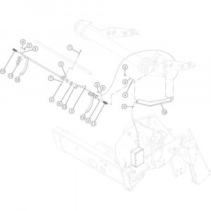 27 Steun sensor passend voor KUHN VB2260