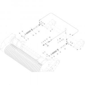 41 Aandrijving Optiflow passend voor KUHN VB2260