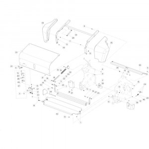 33 Netwikkelset passend voor KUHN VB 2265