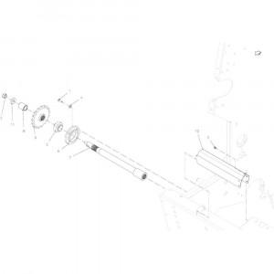 02 Aandrijving passend voor KUHN VB2285