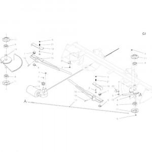 32 Touwbindsysteem passend voor KUHN VB2285