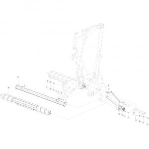 41 Rolaandrijving Optiflow passend voor KUHN VB2285