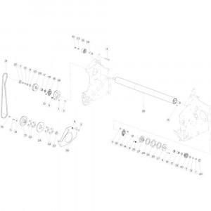 31 Netwikkelset aandrijving passend voor KUHN VB 2290