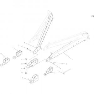 04 Hefinrichting trekoog passend voor KUHN VB 2290