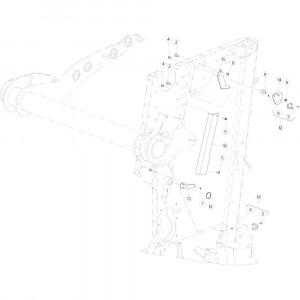 28 Steun sensor passend voor KUHN VB 2290