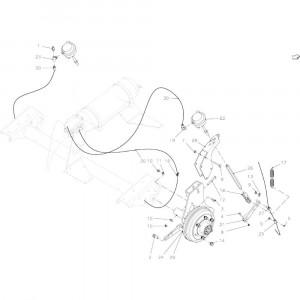 06 Pneumatische rem passend voor KUHN VB 2295