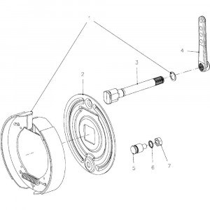08 Remmen passend voor KUHN VB 2295