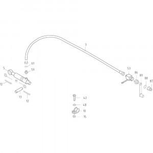 16 Opraper hydraulisch passend voor KUHN FB119
