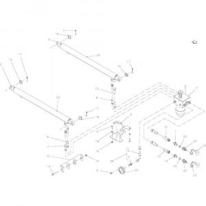15 Hydraulische hefinrichting passend voor KUHN FB2121
