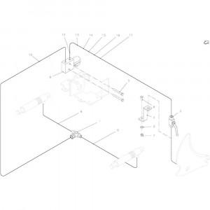 62 Hydraul. Bedieningselement passend voor KUHN FB2135