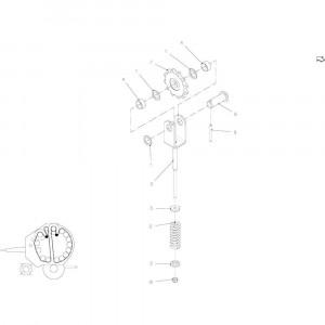 25 Spanner, ketting passend voor KUHN FB2135