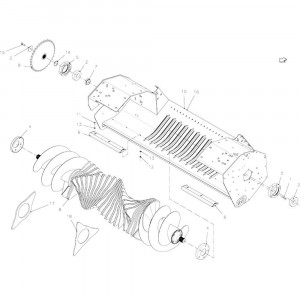 41 Rotor, snij- 23-Oc passend voor KUHN FB2135