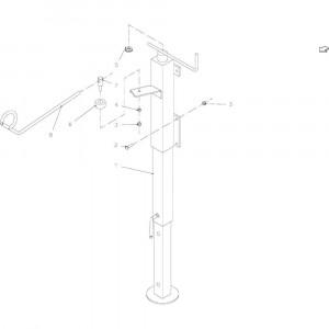 05 Kriksteun, compleet passend voor KUHN FB2135