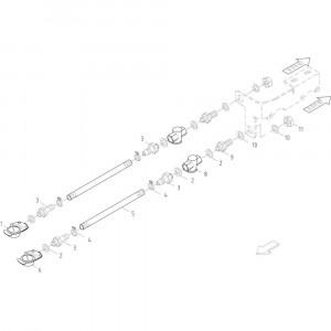 13 Luchtrem passend voor KUHN FB2135