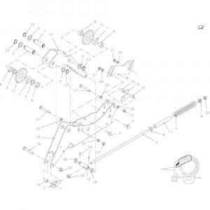 26 Spanner, ketting passend voor KUHN FB2135