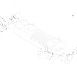 34 Kettingbeschermer 14-Oc passend voor KUHN FB2135