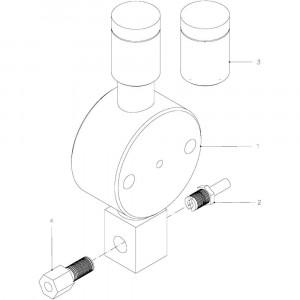 61 Smeersysteem passend voor KUHN FB2135