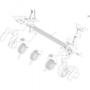 83 Oprapermodule passend voor KUHN FB2135